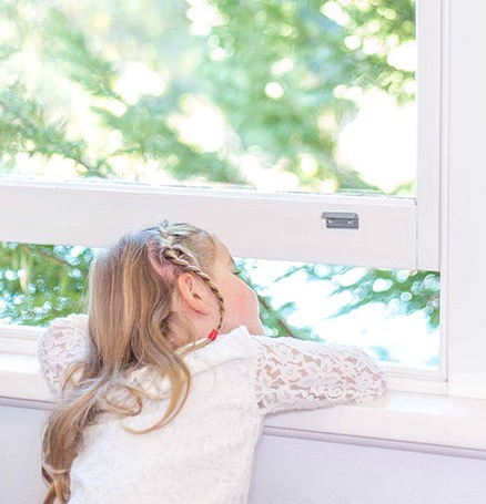 Sash window child restrictor