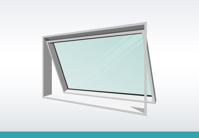 Window Types - Awning Window | Remsafe Window Locks